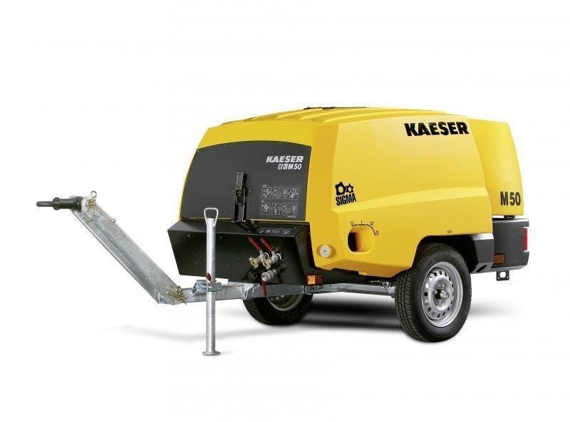 Kaesar 185 CFM Diesel Compressor 0