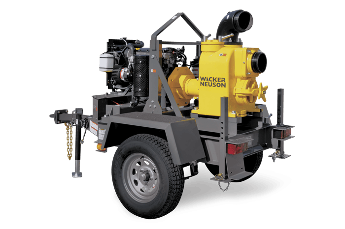 "Wacker Neuson 6"" Diesel Trash Pump 0"