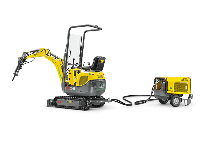 Wacker Neuson 803, Electric/Dual Power 0