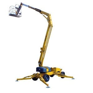 50' Self-Propelled Boom Lift 0