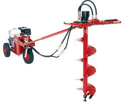 Little Beaver Hydraulic Auger 0