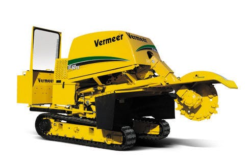 Stump Grinder 60 hp Track Drive 0
