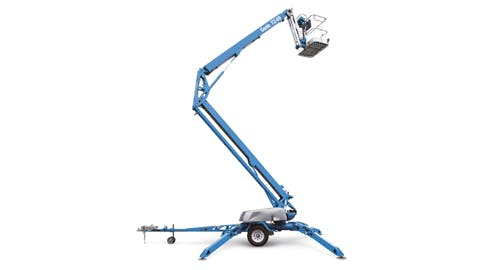 Genie 50' Telescopic/Knuckle Boom Lift