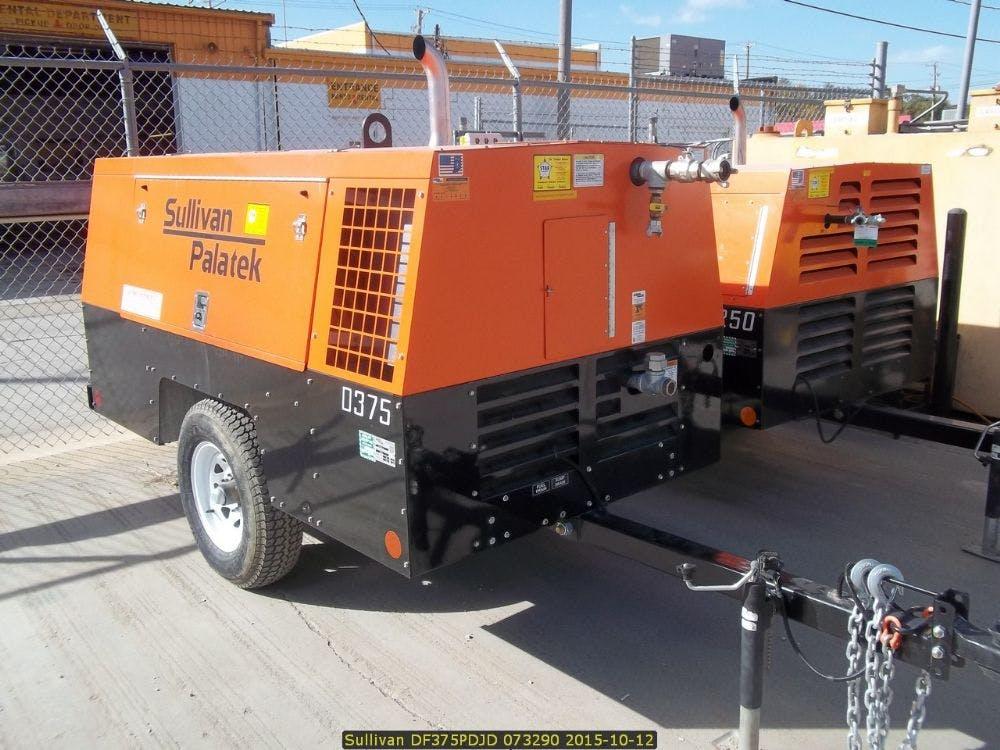 Sullivan 375 CFM Compressor 0