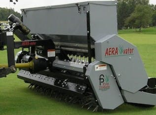 "60"" Aerator with Seed Box"