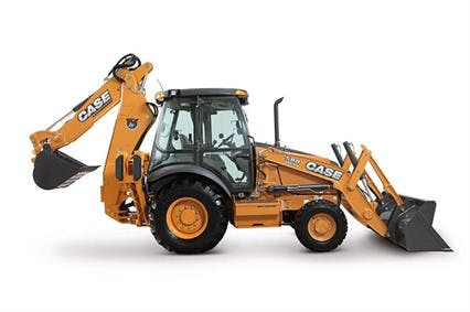 Case 580SN Backhoe 0