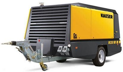 900 CFM Diesel Compressor