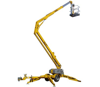 Biljax 55' Telescopic/Knuckle Boom Lift