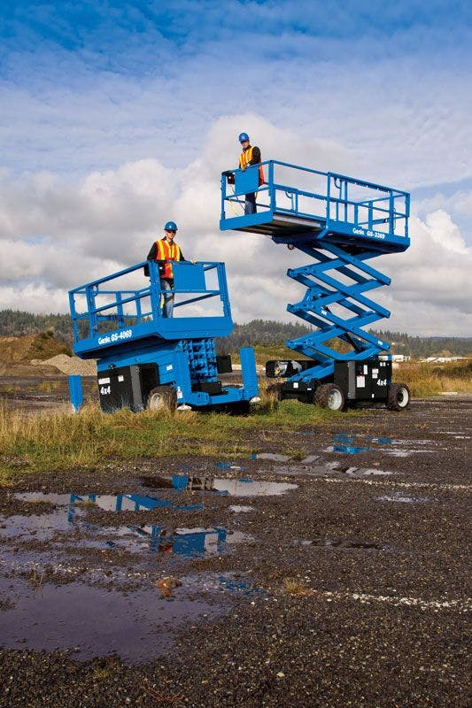Genie 4069RT Rough Terrain Scissor Lift