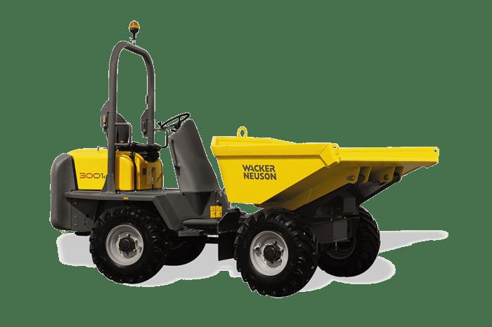 Wacker Neuson 3001 Dumper 0