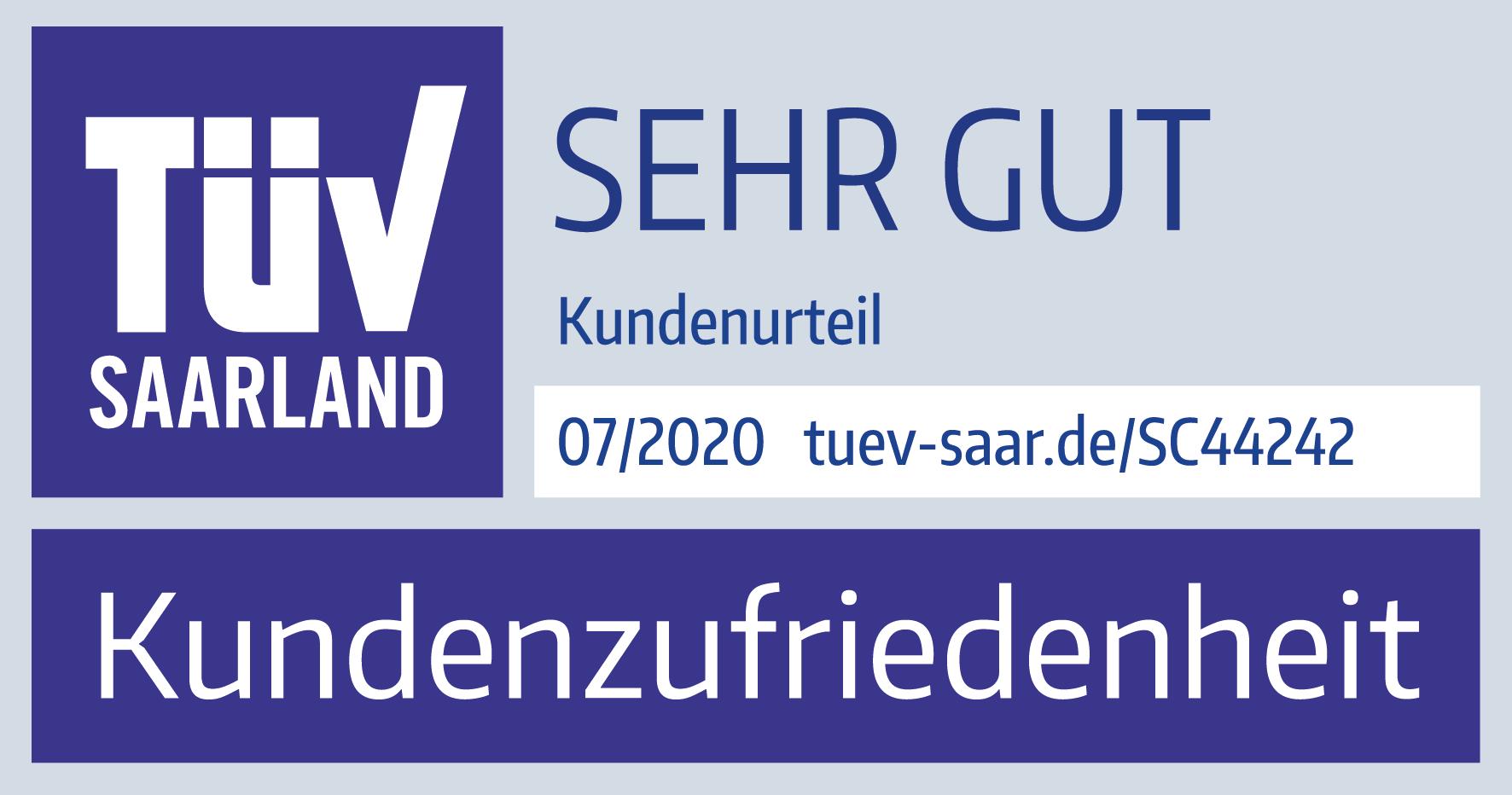 TÜV Saarland - Kundenzufriedenheit hepster