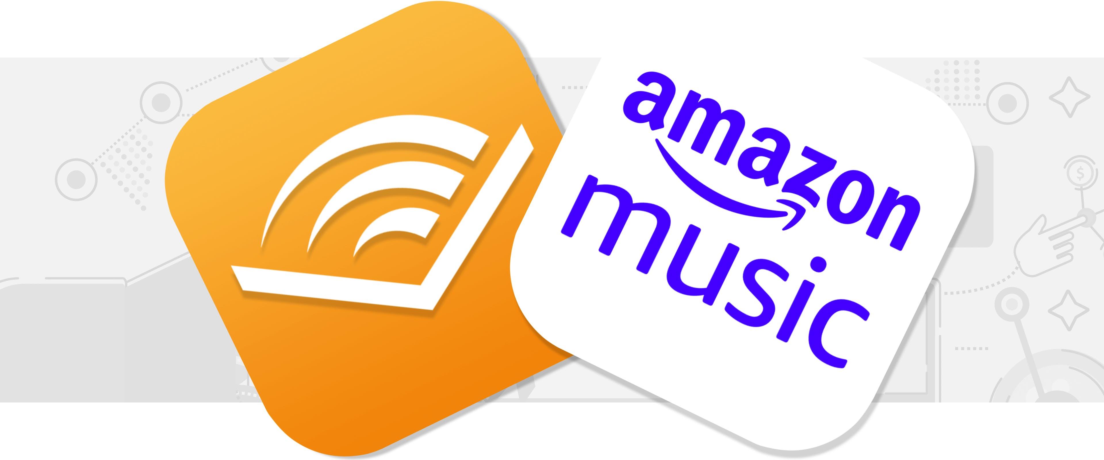 Amazon Music and Audible logo