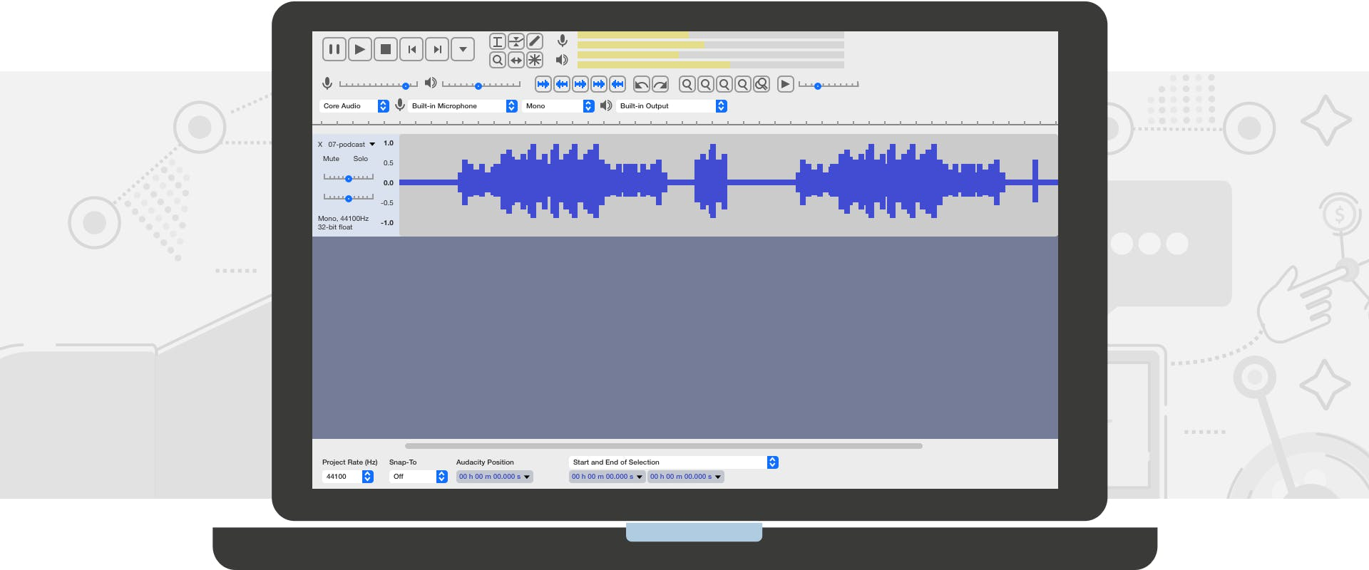 Best sounding audio for podcast in Audacity