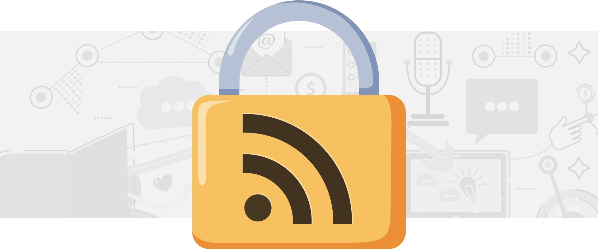 A Locked RSS Feed