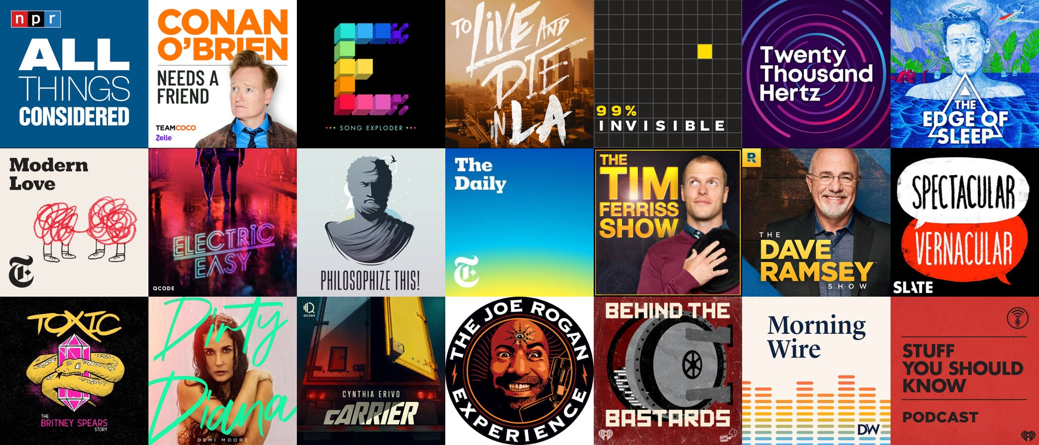 21 examples of great podcast titles