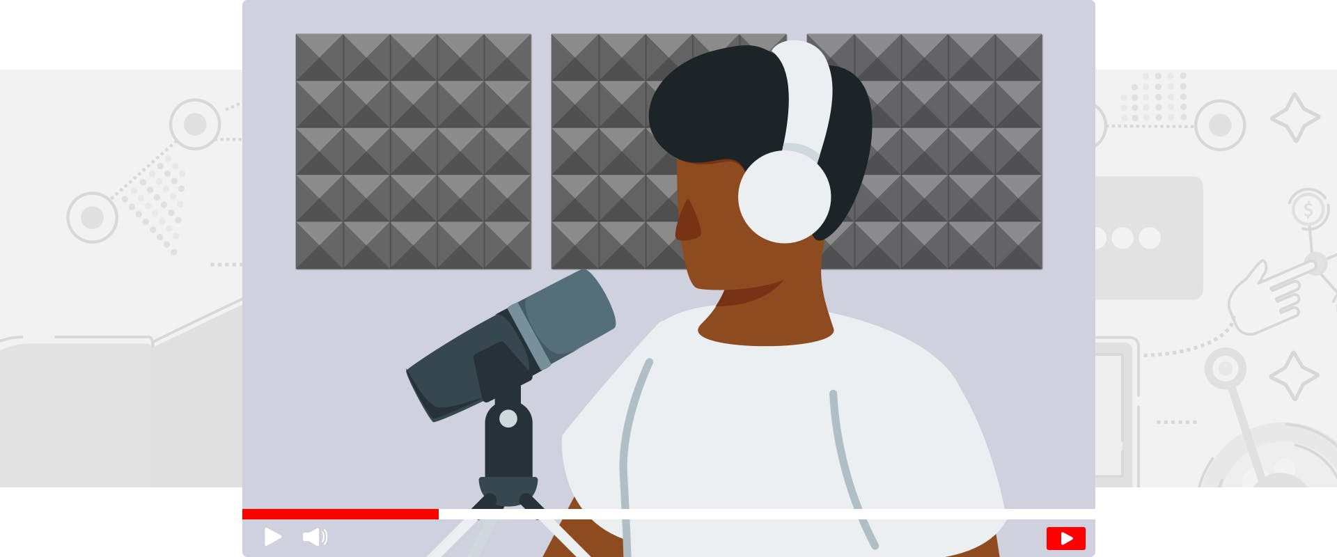 Podcasting on YouTube