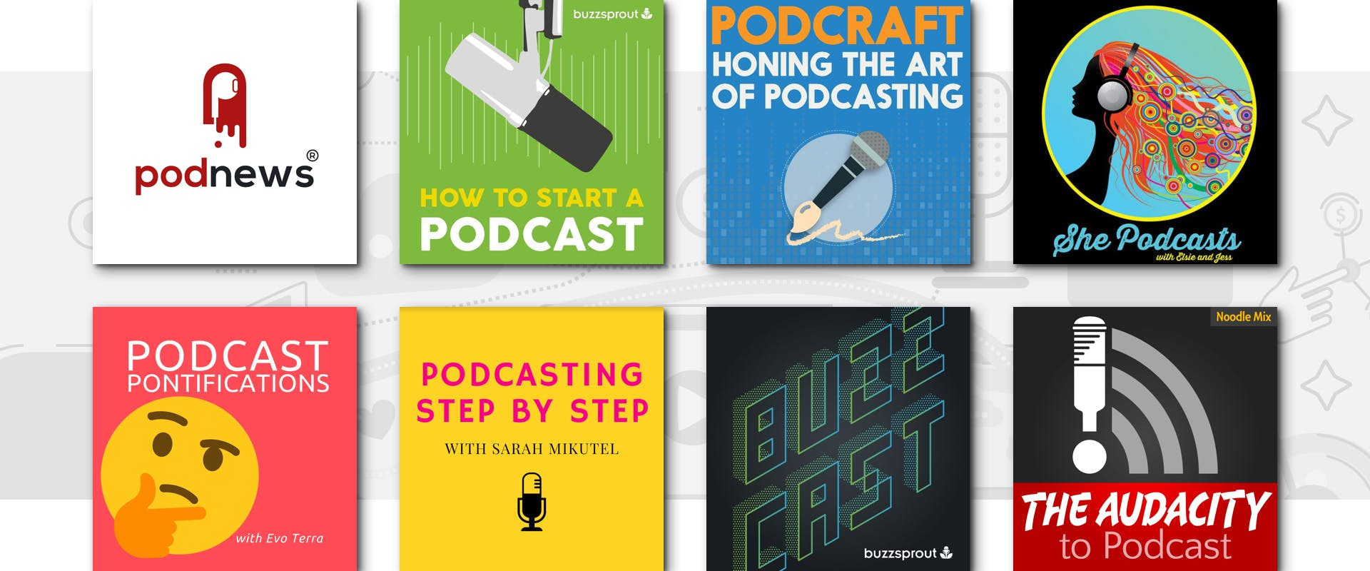 PODCASTING 101 - cover