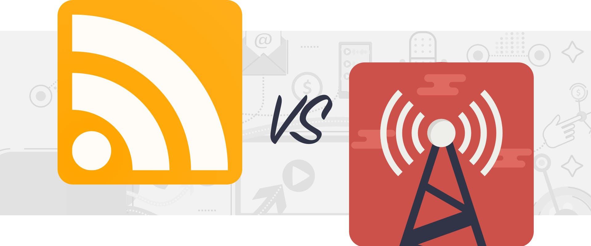 podcasting vs radio