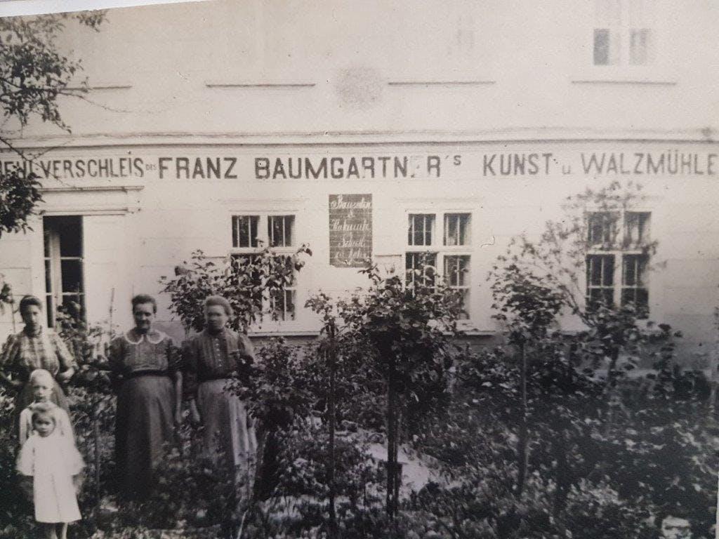 Mühle von Franz Baumgartner in Perschling im Jahr 1867