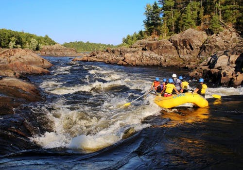 White water rafting on the Ottawa River