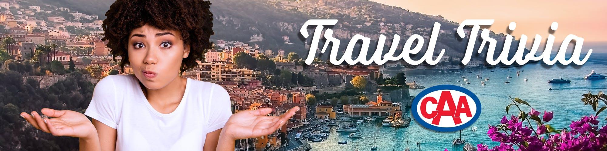 Travel Trivia Banner