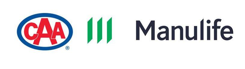 The CAA logo and the Manulife logo
