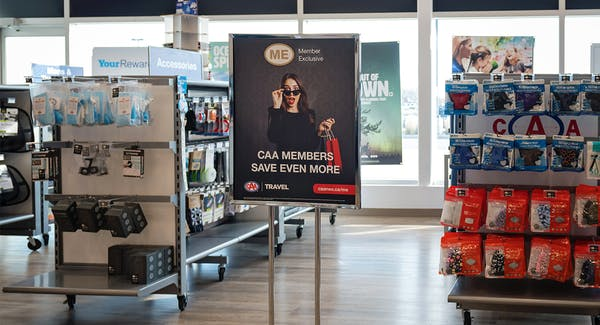 Member Exclusive Collection in CAA Stores