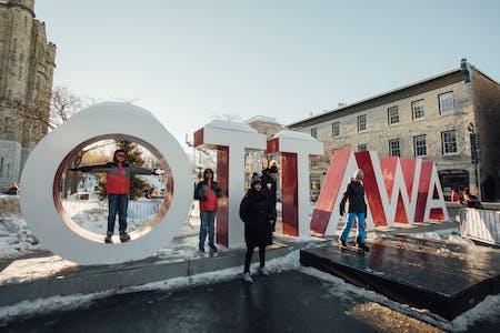 Ottawa Tourism Ottawa Sign