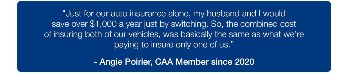 CAA Member testimonial