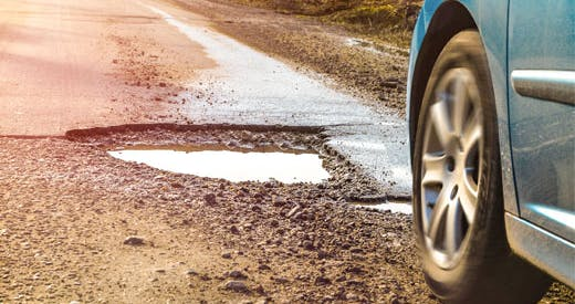 Spring is pothole season. Vote for the Worst Road in your community! Go to CAAworstroads.com today to vote!