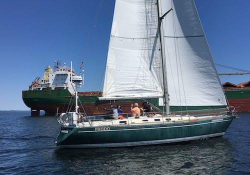 Sail Superior boat on Lake Superior