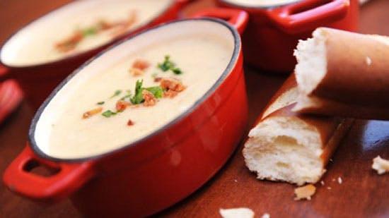Walt Disney World Resort Cheddar Cheese Soup