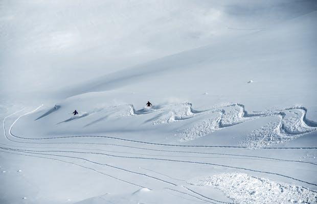 cabinskimontafon freeride station cabin winter montafon skiurlaub