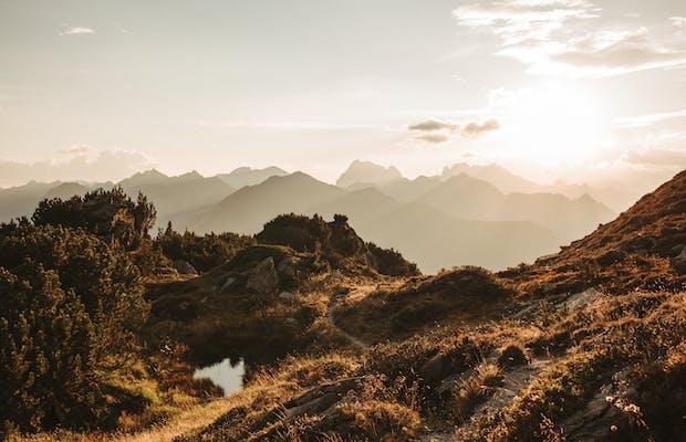 Wanderung Zamangspitze Urlaub Montafon