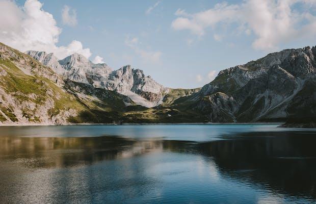 Berglandschaft im Montafon.