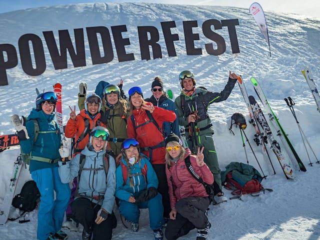 cabinskimontafon freeride station cabin winter silvretta montafon skiurlaub powderfest