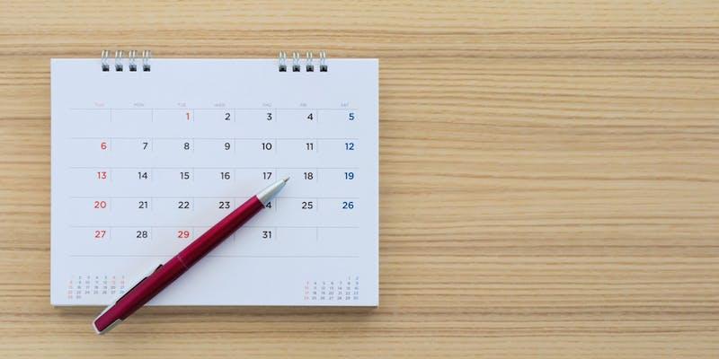 Jours de congés par mois et par an