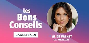 Alice Vachet, CEO d'Alice&coW :