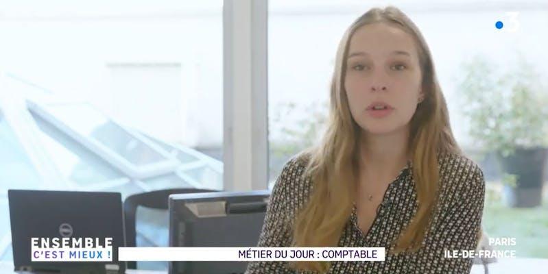 Vu sur France 3 Ile-de-France : le métier de comptable a beaucoup changé, voici pourquoi