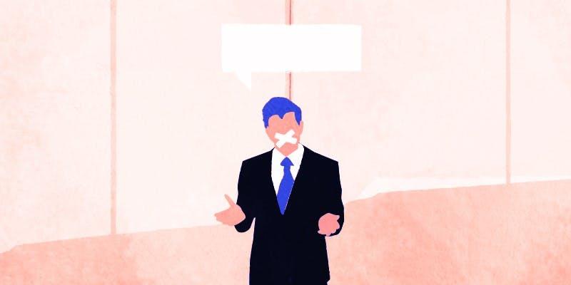 Vive l'autocensure au boulot !