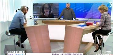 Vu sur France 3 Ile-de-France : bière et finance, 2 histoires d'offres d'emploi à pourvoir sur Cadremploi