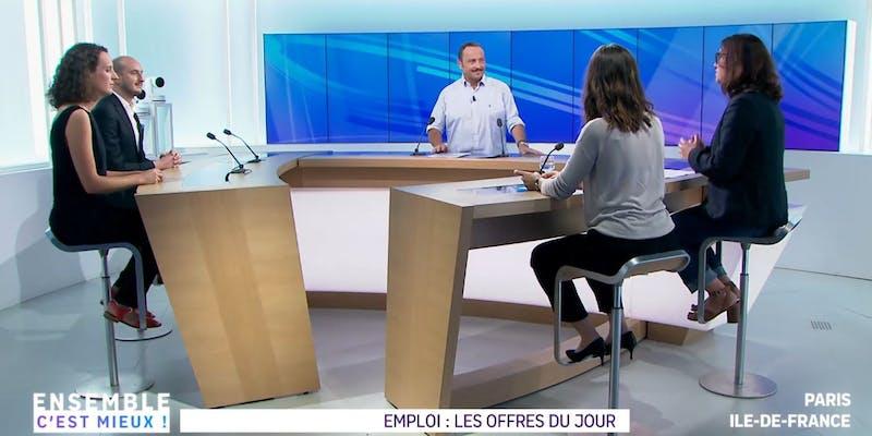 Vu sur France 3 Ile-de-France : comment postuler à une offre d'emploi d'agent immobilier