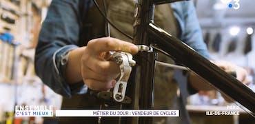 Vu sur France 3 Ile-de-France : quelles offres d'emploi autour de la vente et la réparation de vélo ?