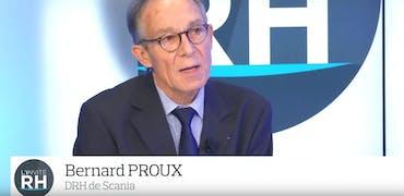 """Bernard Proux, DRH de Scania : """"Nous valorisons le bien-être au travail, pas le stress négatif"""""""