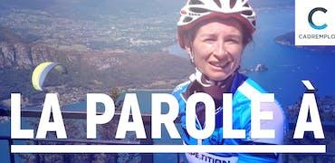 Isabelle Garnero, formatrice au LCL et… coureuse cycliste