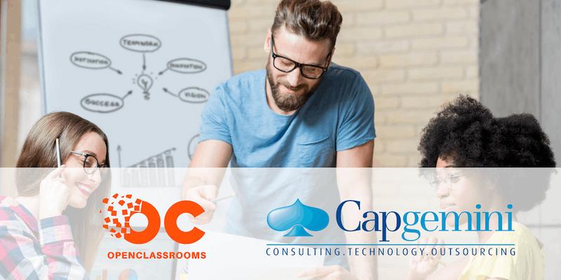 Capgemini lance la 1ère formation en alternance online avec OpenClassrooms