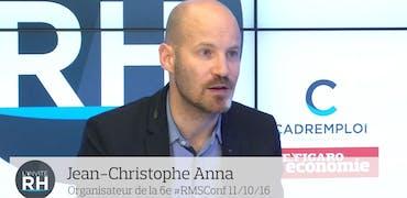 """Jean-Christophe Anna (#rmsconf) : """"Même si l'entreprise ne parle pas de ses salaires, ça se sait"""""""