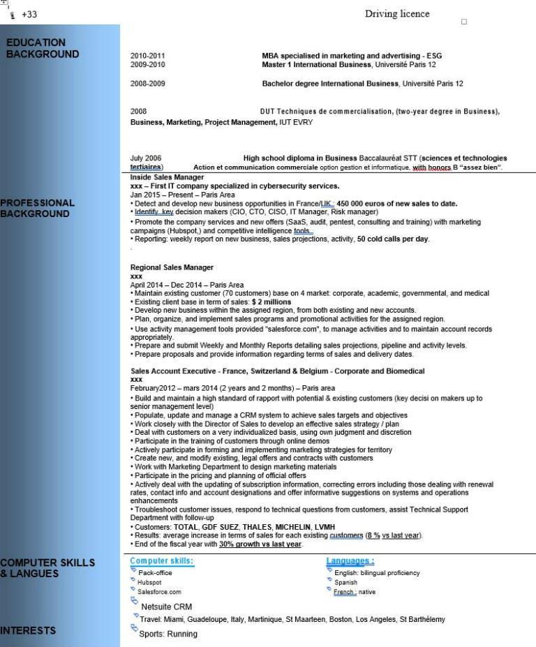 CV en anglais : toutes les règles à connaître - Cadremploi