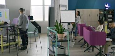 Les nouveaux open spaces vont-ils nous donner envie de revenir au bureau ?