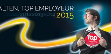 Alten parmi les meilleurs employeurs de France